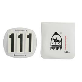 Závodní čísla Pfiff, 3 číslice