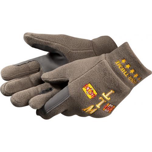 Fleecové rukavice Equi-Theme, olivové - vel. S Rukavice fleece Equi-Theme, olivové, vel. S