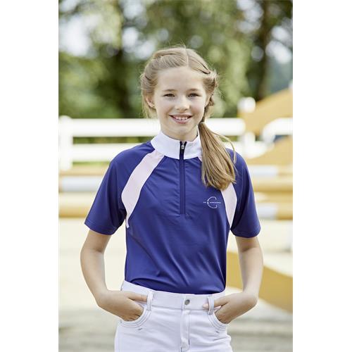Dětské závodní triko Covalliero Lani - modré, 140/146 Triko dětské závodní Lani, modré