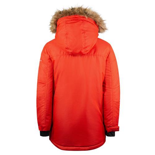 Dětská zimní bunda Horze Remmy - červená, vel. 146/152 Bunda dětská Horze Remy, červená, 146/152