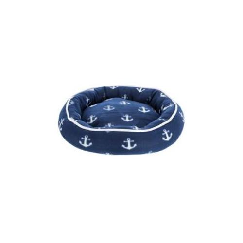 Pelíšek pro psy Barry modrý s kotvou, 50 cm Pelíšek pro psy Barry modrý s kotvou, 50 cm