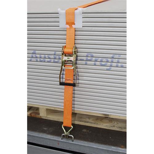 Upínací popruh s ráčnou 50 mm x 10 m, nosnost 4000 kg Upínací popruh s ráčnou a háky 10m/50mm/4t