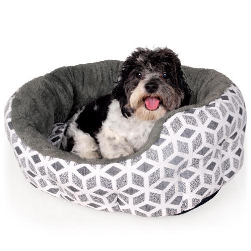 Pelíšek pro psy a kočky Cubic - šedý Cubic šedý