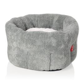 Pelíšek pro psy Donut, šedý