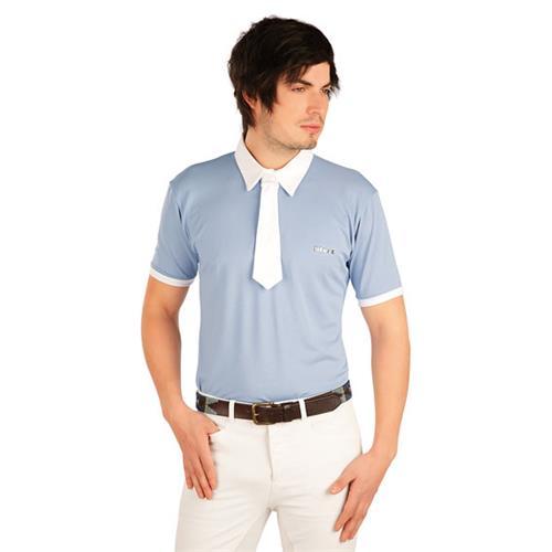 Pánské závodní triko Litex, modro-šedé - vel. M Triko pánské závodní Litex, šedo-modré, vel. M
