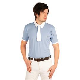 Pánské závodní triko Litex, modro-šedé - vel. M