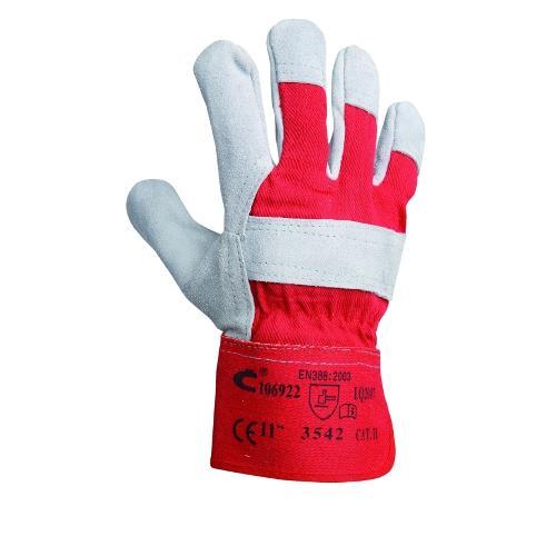 Pracovní rukavice EIDER kombinované, velikost 11, červené Pracovní rukavice EIDER kombinované, velikost 11, červené