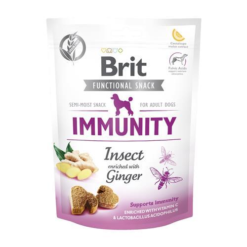 Brit IMUNNITY Isect and Ginger, 150 g Pamlsek Brit Immunity