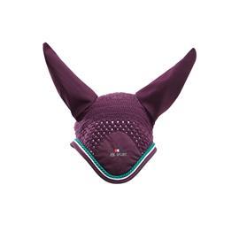 Čabraka na uši Premier Equine - fialová, vel.full