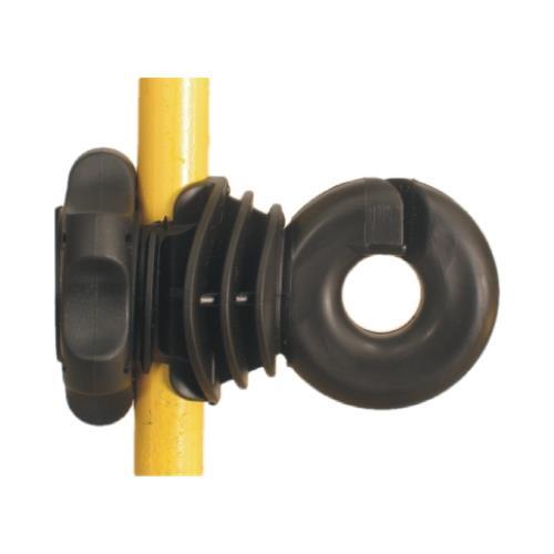 Izolátor pro elektrické ohrady LACME IVABLOC na sklolaminátové tyče - kbelík 50 ks Izolátor pro elektrický ohradník LACME IVABLOC na sklolaminátové tyče