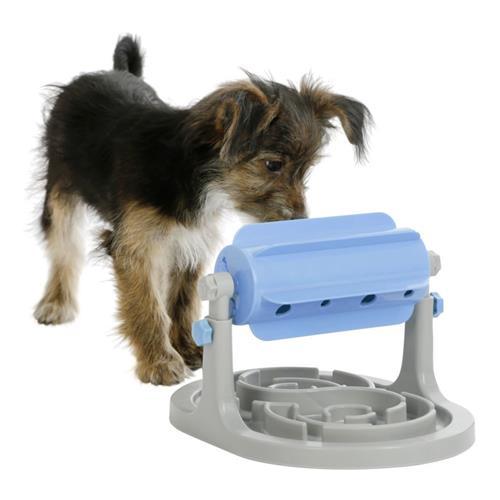 Hračka pro psy, otáčecí kolotoč, 27 x 32 x 20-26cm Foto hračky v poměru s malým plemenem psa.