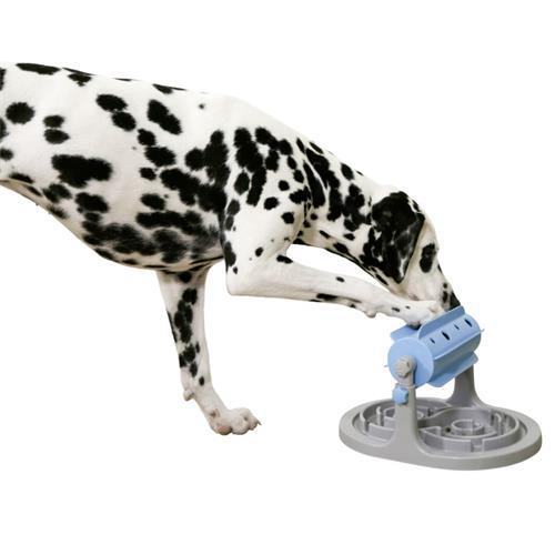 Hračka pro psy, otáčecí kolotoč, 27 x 32 x 20-26cm Foto hračky v poměru s velkým plemenem psa.