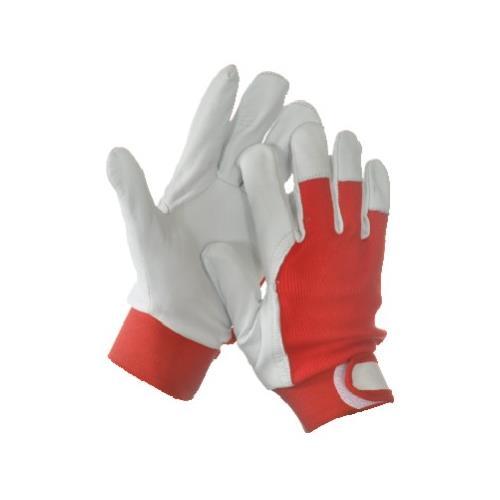 Pracovní rukavice kombinované MECHANIK LUX+ - 9 Pracovní rukavice kombinované MECHANIK LUX+