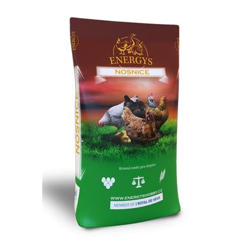 Krmivo pro kuřata Energys Mini, 25kg, drcená směs Krmivo pro kuřata Energys Mini, 25kg, drcená směs