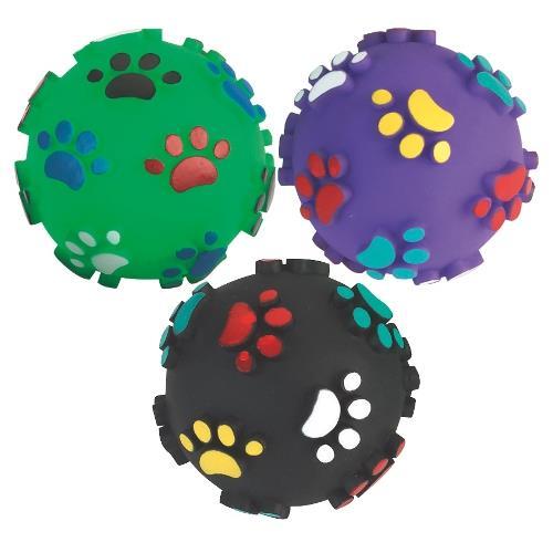 Pískací míček pro psy, 10 cm Ilustrativní foto.