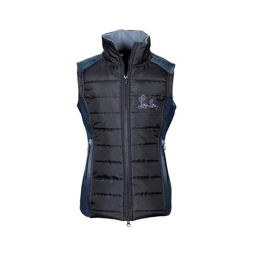 Dětská vesta Harrys Horse Crayford, modrá - vel. 164 Vesta dětská HH Crayford, denim, vel. 164