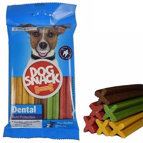 Dentální kříže pro psy, 5 ks v balení Dentání pamlsek pro psy.