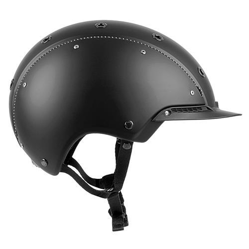 Jezdecká bezpečnostní přilba Casco Champ 3 - černá, vel. M ( 56-58) Jezdecká přilba Casco Champ 3, černá, vel. M