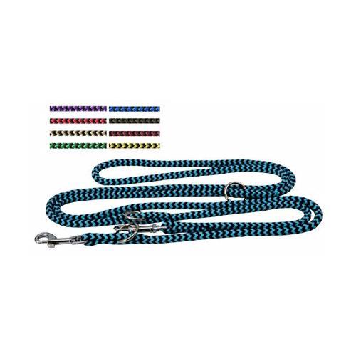 Lanové přepínací vodítko 8 mm pro psy, mix barev, 2 m Lanové přepínací vodítko pro psy.