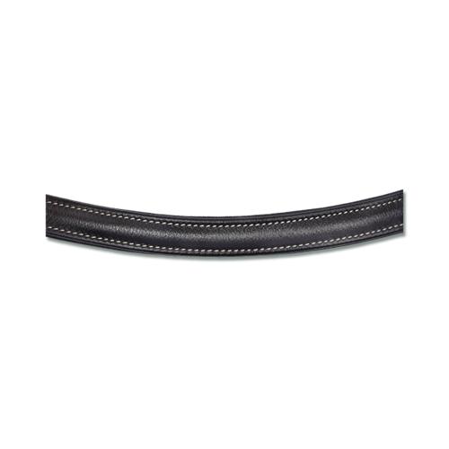 Bezudidlová kožená uzdečka ELT Supersoft, černá - vel. Cob Uzdečka bezudidlová ELT, supersoft, černá, Cob