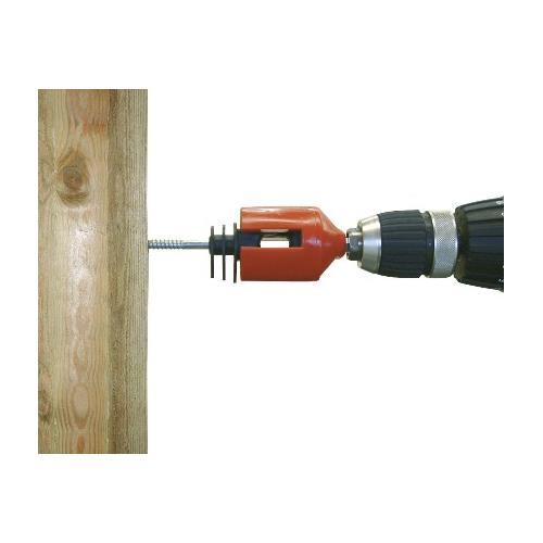 Izolátor pro elektrické ohradníky LISTER, WI 94 s vrutem 6 mm pro pásku do 20 mm a lanko Izolátor pro elektrické ohradníky LISTER, WI 94 s vrutem 6 mm pro pásku do 20 mm a lanko