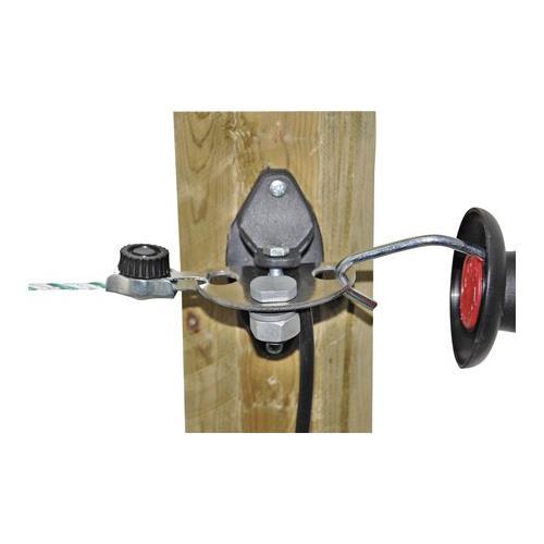 Vysokonapěťový kabel pro elektrické ohradníky - dvojitá izolace - 50 m zelený Vysokonapěťový kabel pro elektrické ohradníky - dvojitá izolace, zelený, 50 m