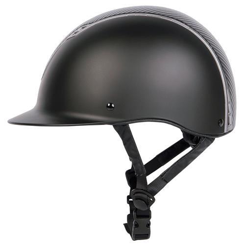 Jezdecká přilba Harrys Horse Centaur Carbon - černá, vel. M/L Přilba jezdecká HH Centaur Carbon, černá, M/L