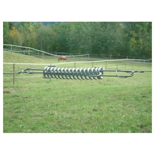 Dilatační pružina pro vodiče elektrických ohradníků, 435 mm, pozinkovaná Dilatační pružina pro vodiče elektrických ohradníků, 435 mm, pozinkovaná