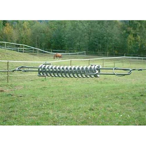 Dilatační pružina pro vodiče elektrických ohradníků, 435 mm, nerezová Pružina dilatační pro elektrické hrazení, nerez