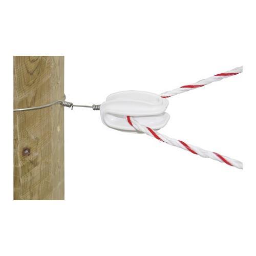 Izolátor pro elektrické ohradníky LACME WI 120, rohový a napínací - vajíčko - polyamid Izolátor pro elektrické ohradníky LACME, IEF SUPER, rohový a napínací - vajíčko