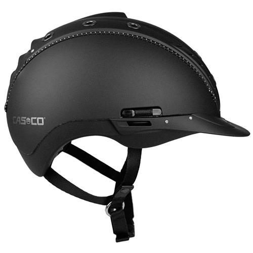 Jezdecká bezpečnostní přilba Casco Mistrall 2 - černá, vel. L (58-60) Přilba jezdecká CASCO Mistrall 2, černá, L 58-60
