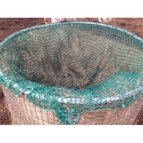 Příkrmiště kruhové pro ovce se střechou, pozinkované průměr 170 cm Síť na seno do příkrmiště