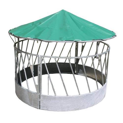 Příkrmiště kruhové pro ovce se střechou, pozinkované průměr 170 cm Příkrmiště kruhové pro ovce se střechou, pozinkované průměr 170 cm