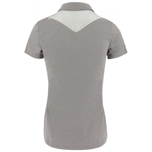Dámské triko Equi-Theme, s kamínky - hnědé, vel. M Triko dámské Equitheme, hnědé s kamínky, vel. M