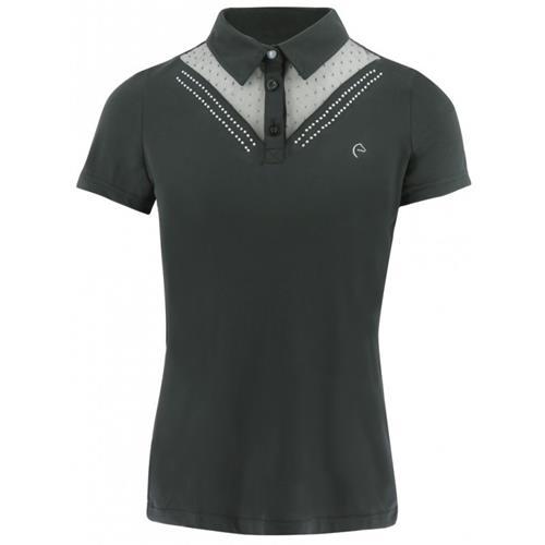 Dámské triko Equi-Theme, s kamínky - černé, vel. M Triko dámské Equitheme, černé s kamínky, vel. M