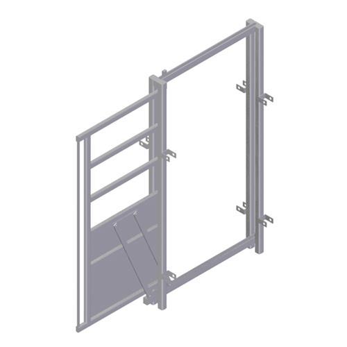 Dveře posuvné HOPSSA - součást manipulačních ohrad pro skot Dveře posuvné HOPSSA - součást manipulačních ohrad pro skot