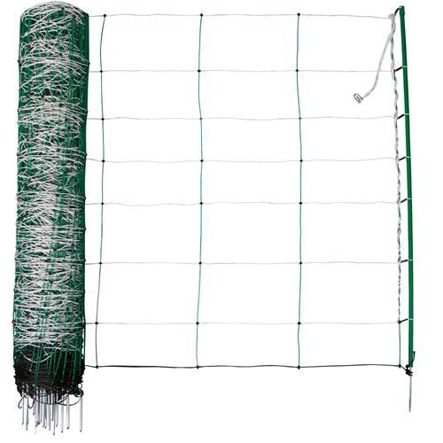 Síť pro elektrické ohradníky na ovce TopLine Plus v. 90 cm, d. 50 m, jednoduchá špička ilustrační foto