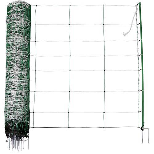 Síť pro elektrické ohradníky na ovce TopLine Plus v. 108 cm, d. 50 m, dvojitá špička Síť pro elektrické ohradníky na ovce TopLine Plus v. 108 cm, d. 50 m, dvojitá špička