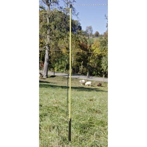 Síť pro elektrické ohradníky na ovce EasyNet v. 105 cm, d. 50 m, jednoduchá špička Síť pro elektrické ohradníky na ovce EasyNet v. 105 cm, d. 50 m, jednoduchá špička