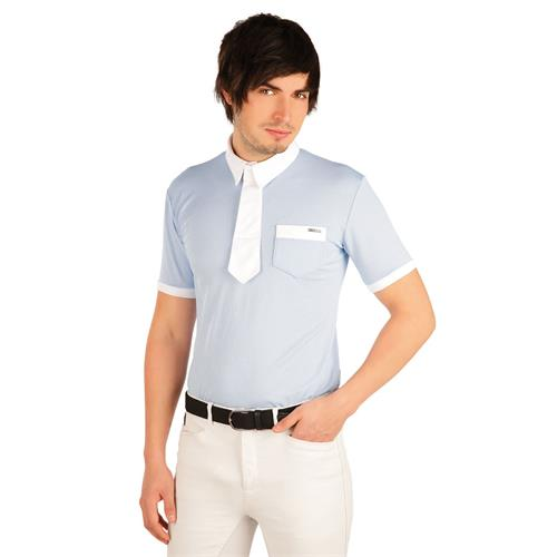 Pánské závodní triko Litex, světle modré - vel. M Triko pánské závodní Litex, světle modré, vel. M
