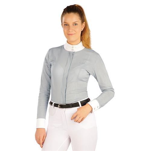 Dámská závodní košile Litex, šedá - vel. M Košile dámská Litex, šedá, vel. M