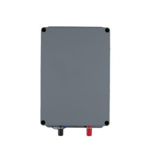 GSM alarm  kompletní sestava 230V/12V GSM alarm pohled zhora