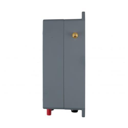 GSM alarm  kompletní sestava 230V/12V GSM alarm pohled z boku