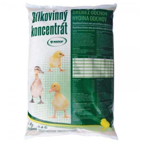 Minerální doplněk MIKROS BK drůbež, 5 kg MIKROS BK drůbež, doplňkové krmivo, 5 kg