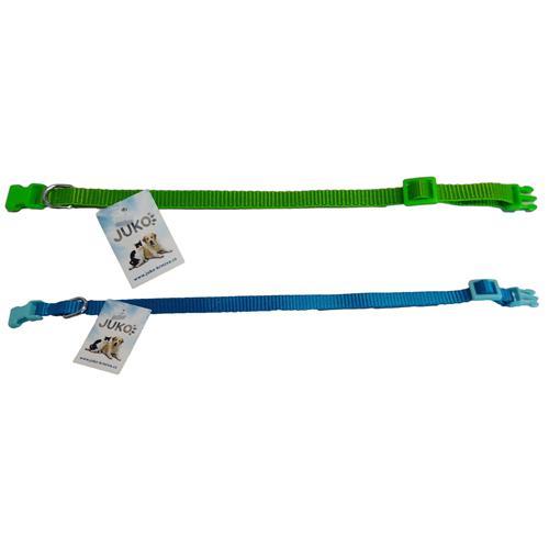 Nylonový obojek pro psy, mix barev, 20 - 32 cm Nylonový obojek pro psy, mix barev, 20 - 32 cm
