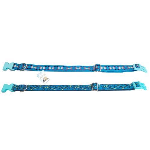 Nylonový  obojek pro psy se vzory, 38 - 58 cm Nylonový  obojek pro psy se vzory, 38 - 58 cm