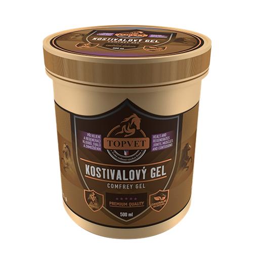 Kostivalový gel Topvet - 500 ml Gel kostivalový TOPVET, 500 ml