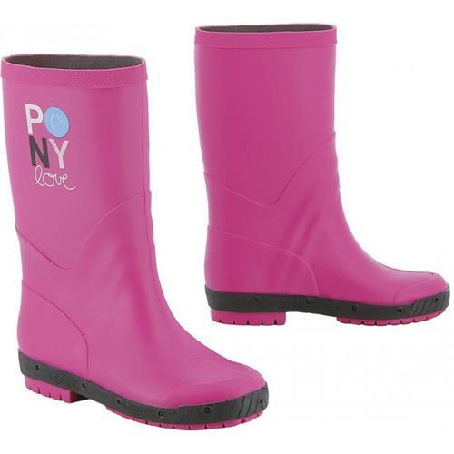 Dětské holinky Equitheme Pony Love, růžové - vel. 31 Holinky dětské Pony Love, růžové, vel. 31