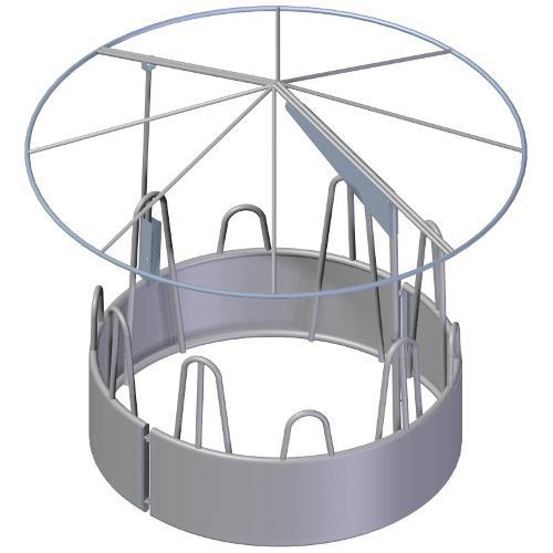 Kruhová střecha s plachtou, otočná BOROVÁ DESIGN Kruhová střecha s plachtou, otočná BOROVÁ DESIGN