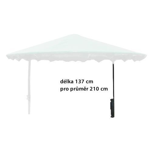 Sloupek otočné střechy pro příkriště 210 cm, délka 137 cm Sloupek otočné střechy pro příkriště 210 cm, délka 137 cm